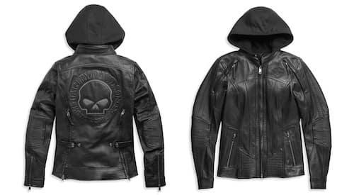 Harley Women's Auroral II 3-in-1 Leather Jacket # 98011-21VW