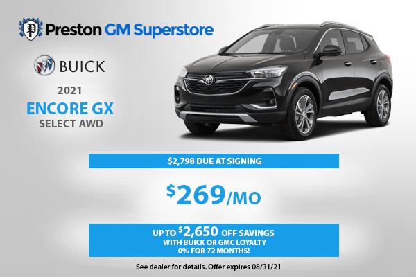 2021 Encore GX Preferred AWD