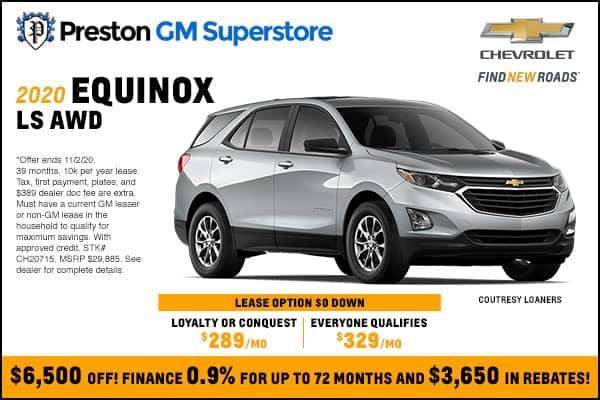 2020 Equinox LS AWD