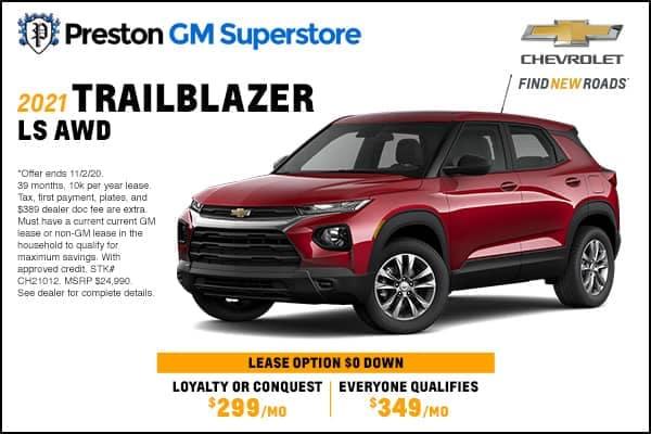 2021 Trailblazer LS AWD