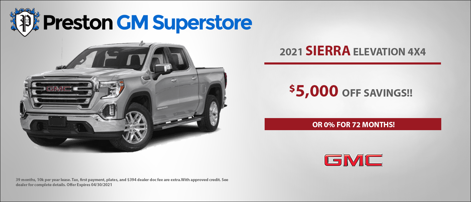 Preston GM Banner GMC Sierra (1)apr
