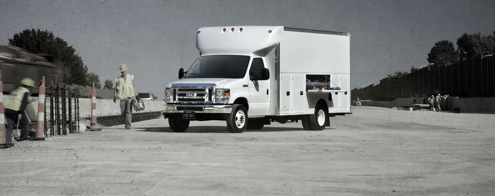 New Econoline inventory at Quirk Ford
