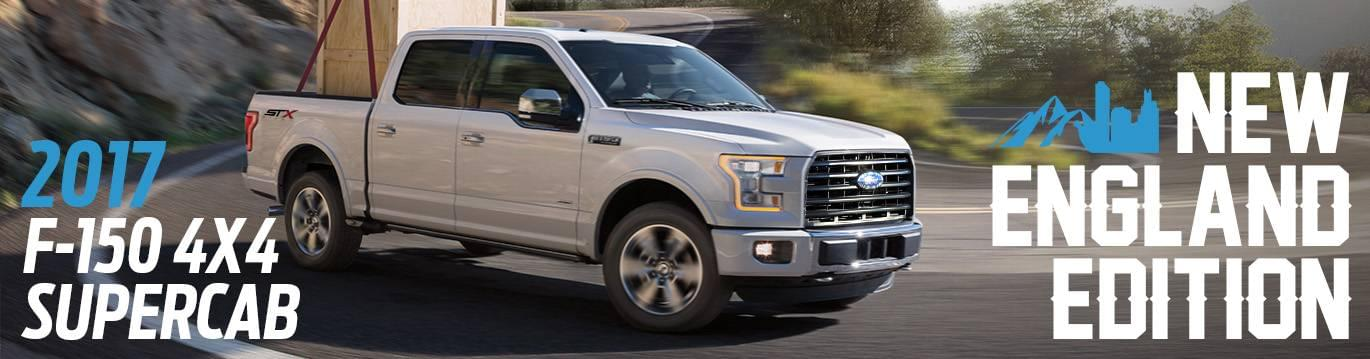 2017 Ford F-150 New England Pkg.