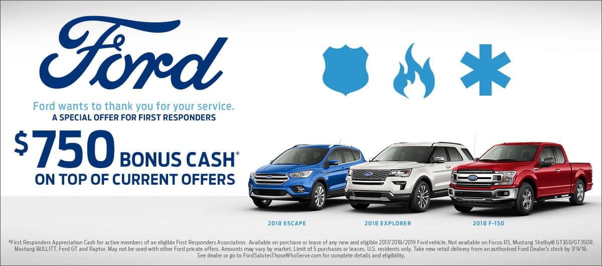 Ford First Responder >> First Responders Appreciation Program