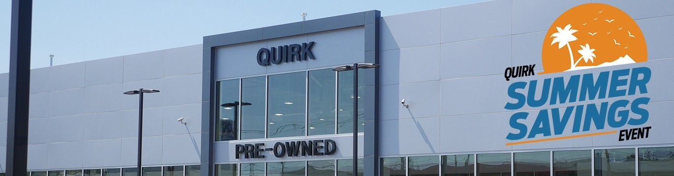 Quirk Preowned Monthly Specials