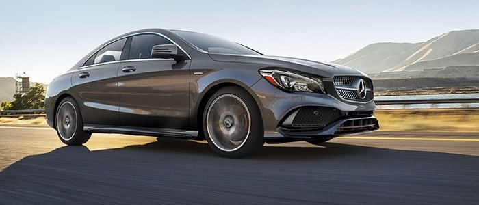 2018 CLA 250 4MATIC<sup>®</sup> Coupe