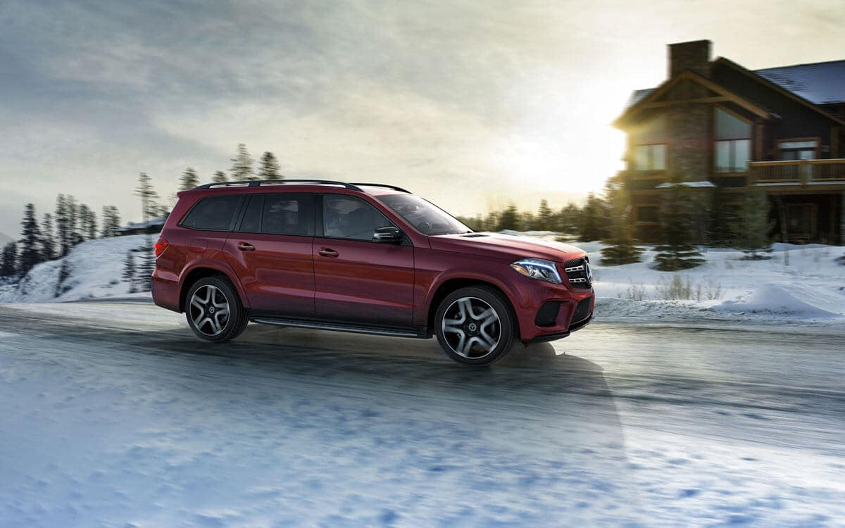 2018 MB GLS Red