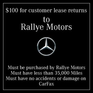 Rallye Motors Lease Return