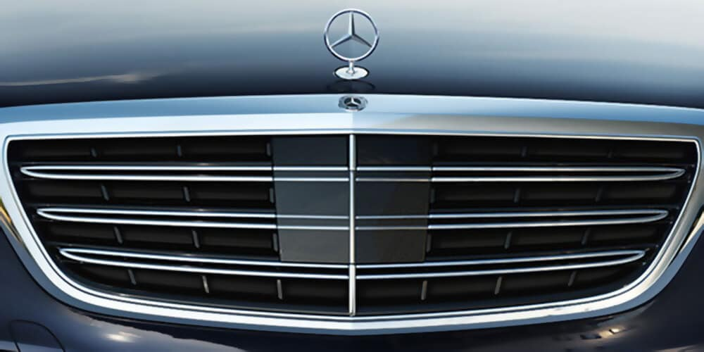 2018 MB S-Class Grill
