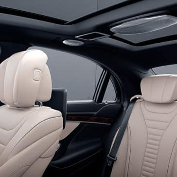 2018 MB S-Class Seating
