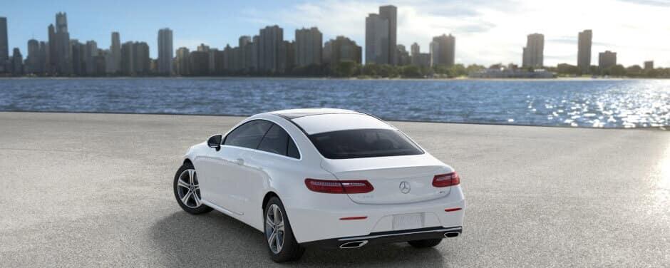 2018 Mercedes-Benz E-Class Coupe rear view