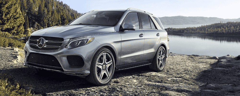 Silver 2019 Mercedes-Benz GLE Side View