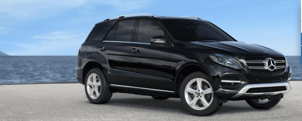 2019 Black Mercedes-Benz GLE Side View