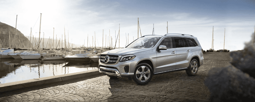 White 2019 Mercedes-Benz GLS