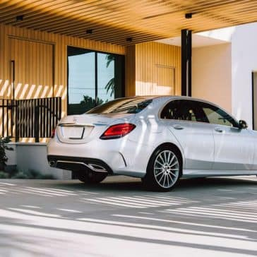 2019 Mercedes-Benz C-Class Sedan back side exterior