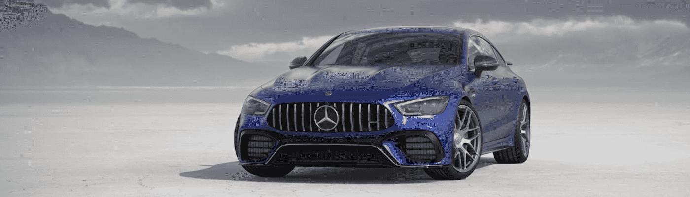 Blue 2020 Mercedes-Benz