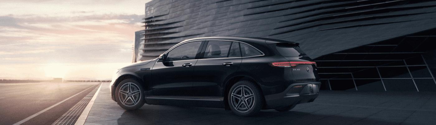 Black Mercedes-Benz Model