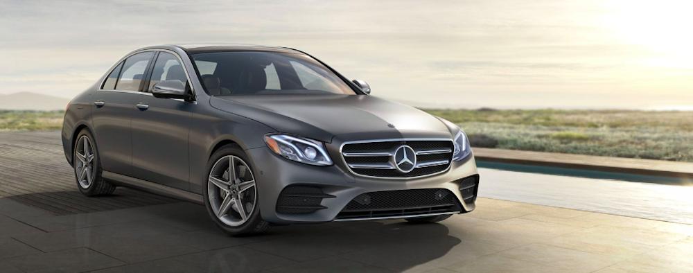 Gray Mercedes-Benz E-Class