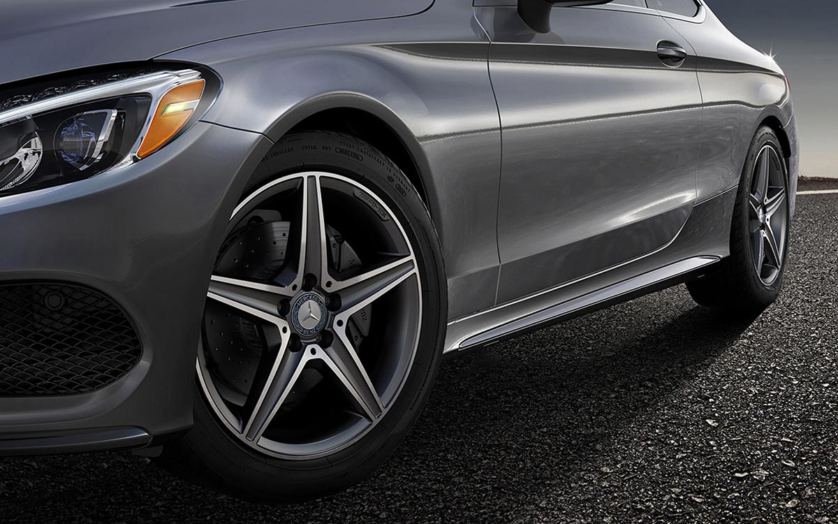 2017-C300-Coupe-Sport Wheel