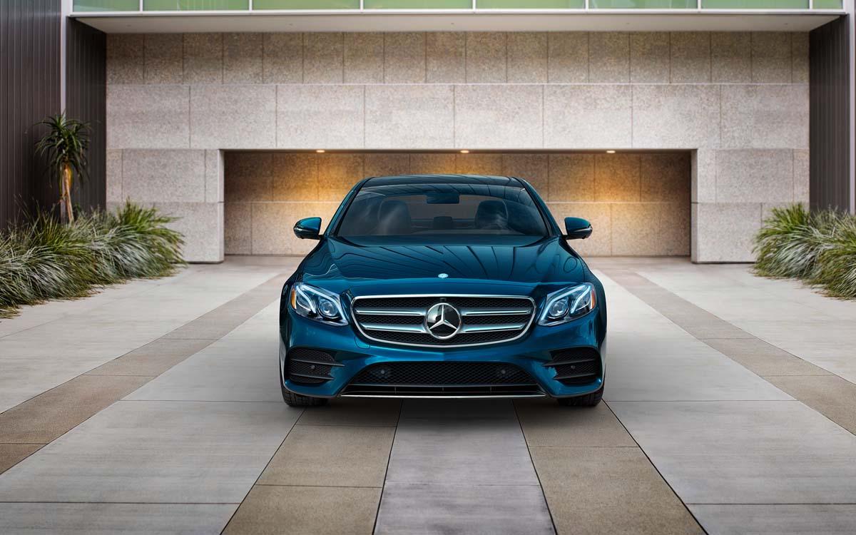 E-Class in driveway