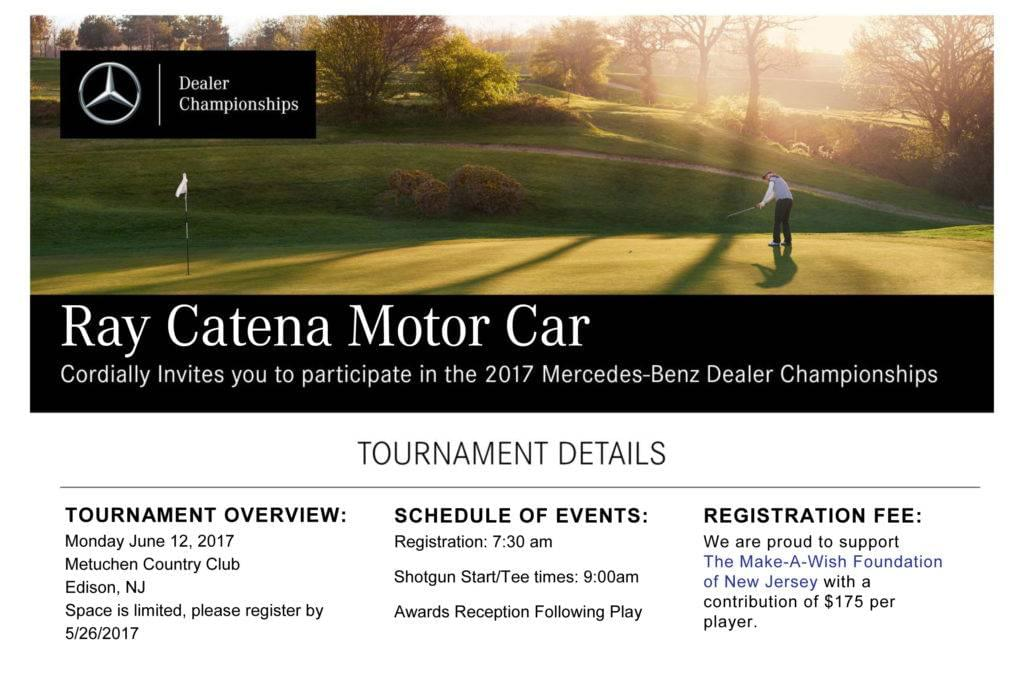 Ray catena mercedes benz golf tournament edison nj for Ray catena mercedes benz