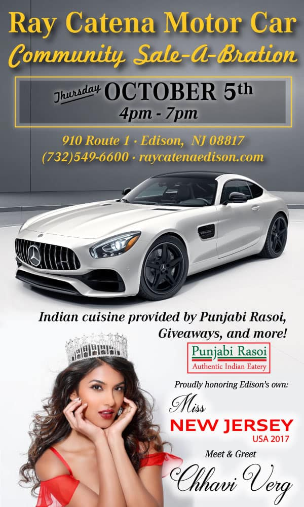 Chhavi verg miss new jersey usa 2017 ray catena motor for Ray catena mercedes benz