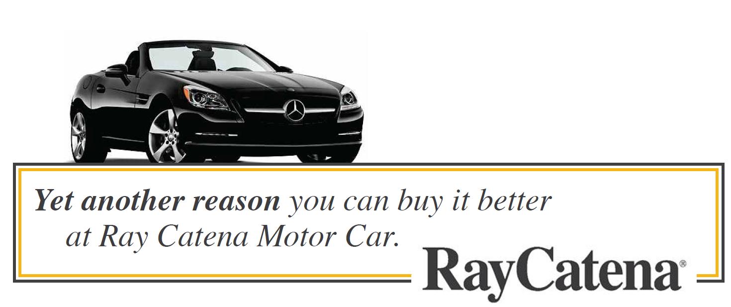 Ray catena buy it better ray catena motor car corp for Ray catena motor car corp mercedes benz dealership edison nj