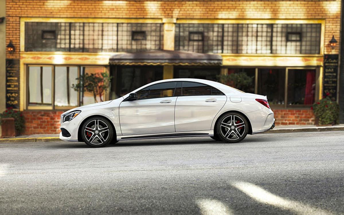 2018-Mercedes-CLA-exterior-polar-white-edison-nj-2