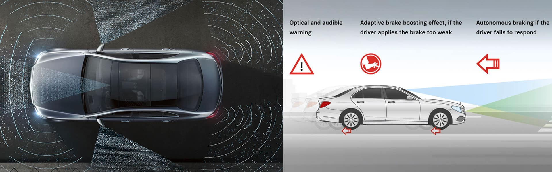 Mercedes Benz E 300 Attention Assist and Crowdwind Assist