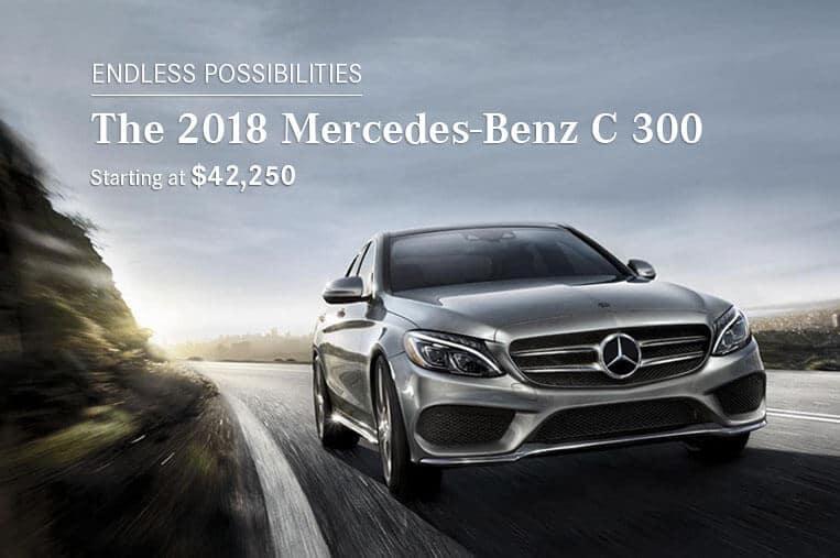 The 2018 Mercedes-Benz Class-C300