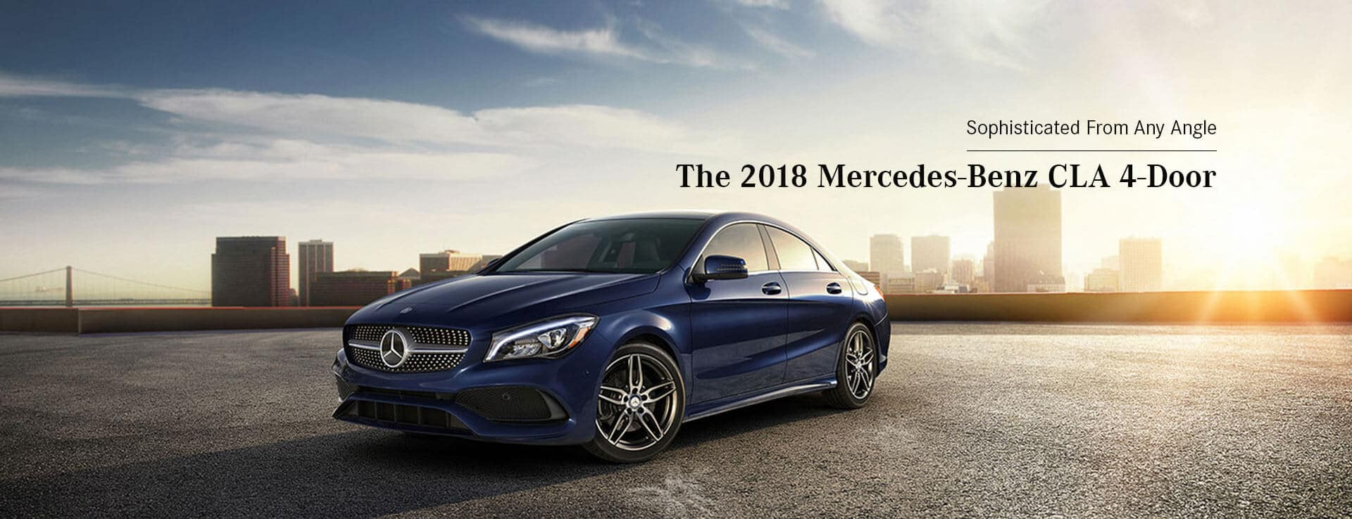 The 2018 Mercedes-Benz CLA Hero