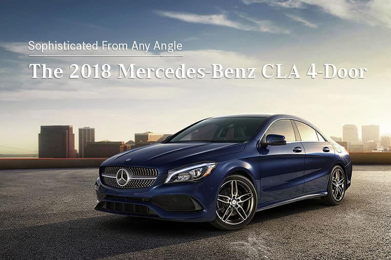 2018 Mercedes-Benz CLA 250 Hero