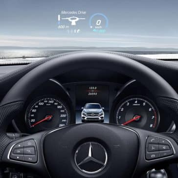 2019 Mercedes-Benz GLC Steering Wheel and Safety Features