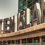 staten island ferry terminal sign