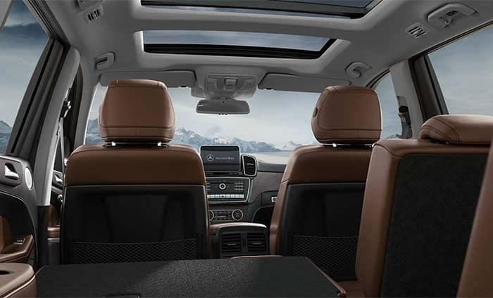 2019 Mercedes-Benz GLS Interior Rear View
