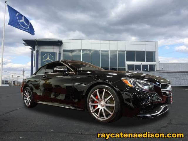 CPO 2017 Mercedes-Benz S-Class AMG® S 63 4MATIC® Cabriolet