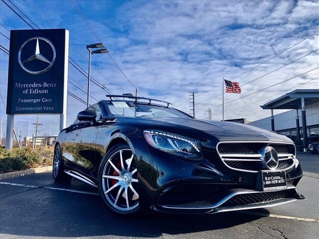 2017 Mercedes-Benz S-Class AMG® S 63 Cabriolet 4MATIC®