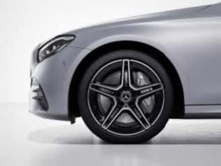 RSP - AMG 5-Spoke Wheels w/ Black Accents