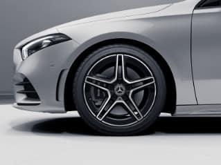 RQT - AMG 5-Spoke Wheels w: Black Accents