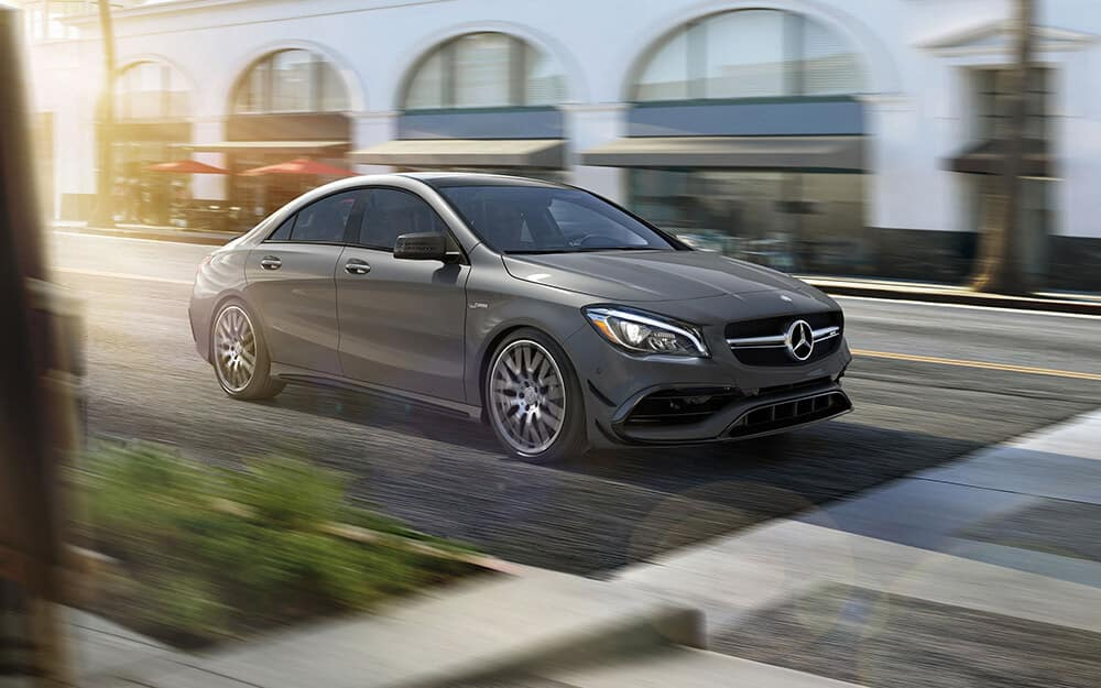 2018 Mercedes Benz CLA Coupe exterior
