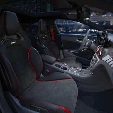 2018 Mercedes Benz CLA Coupe front interior