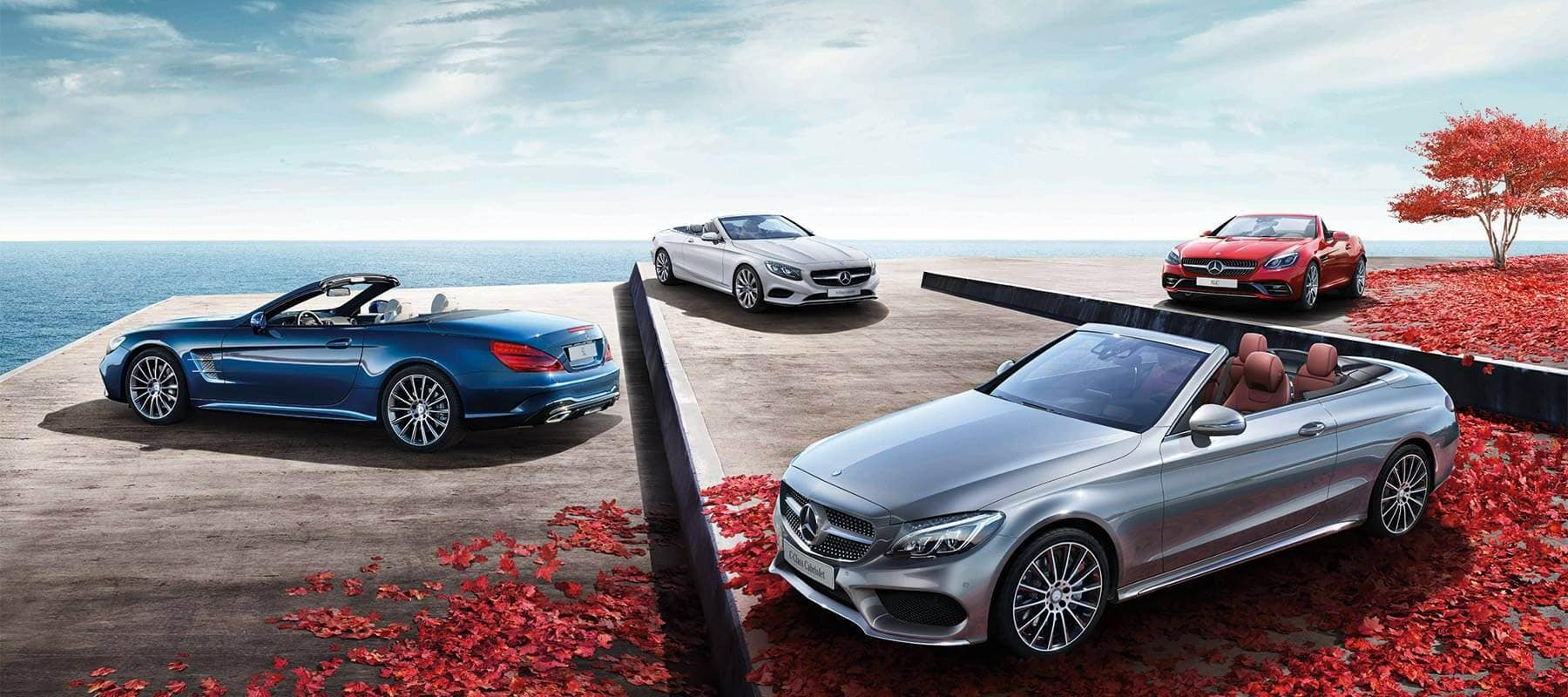 2017 Mercedes-Benz Cabriolet and Roadster