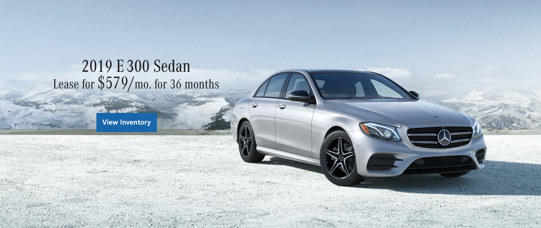 2019 Mercedes-Benz E 300 Lease Special at Ray Catena