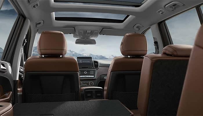 2019 Mercedes-Benz GLS Interior Space