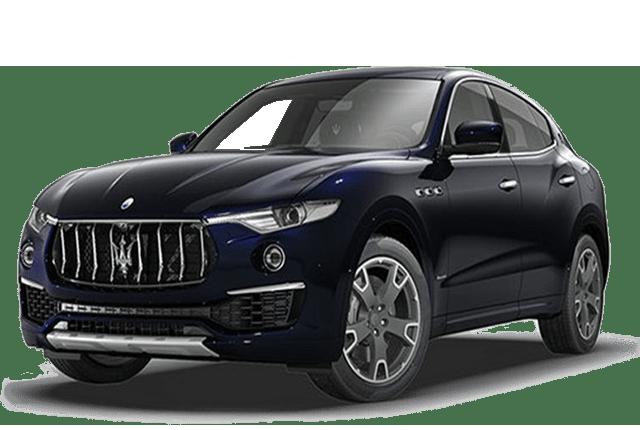 2018 Maserati Dark Blue SUV Angled