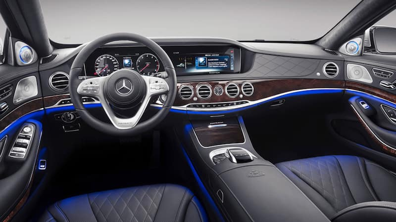mercedes-benz s-class interior front