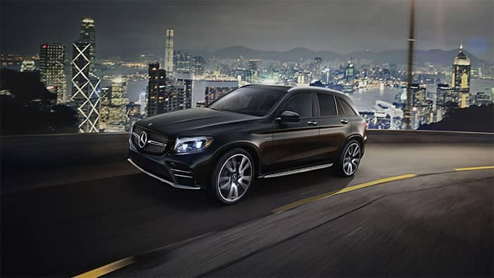 2019 Mercedes-Benz GLC AMG Driving