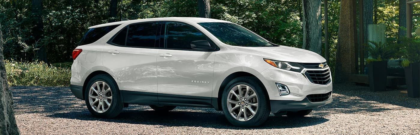 Chevy Equinox Parked Outside Home