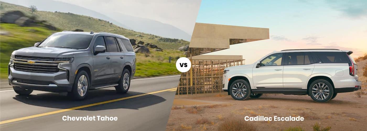 Chevy Tahoe vs. Cadillac Escalade
