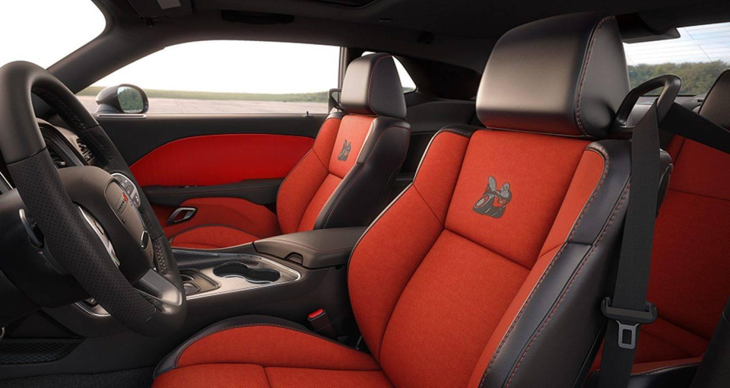 2017 Dodge Challenger Interior Seating